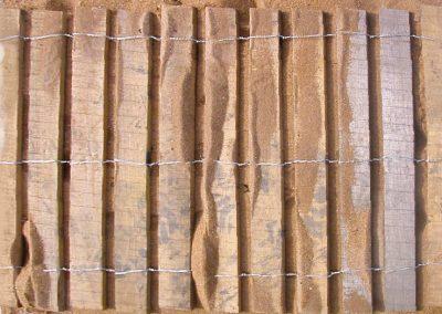 clôture ganivelle portail bois châtaignier Kastané #064