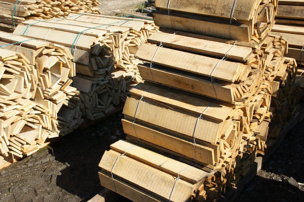clôture ganivelle portail bois châtaignier Kastané #018
