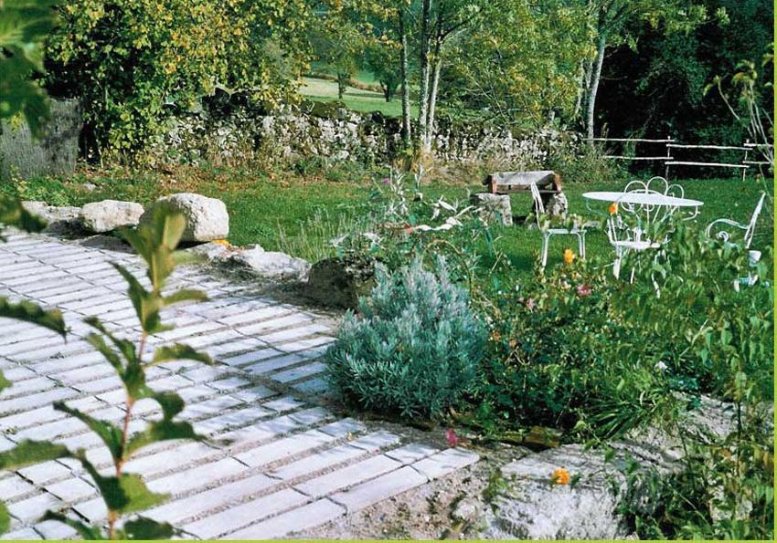 clôture ganivelle portail bois châtaignier Kastané #011