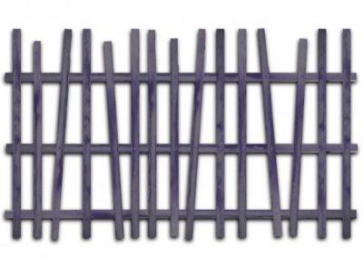 clôture châtaignier panneaux ganivelle portail