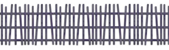 clôture ganivelle portail bois châtaignier Kastané #096