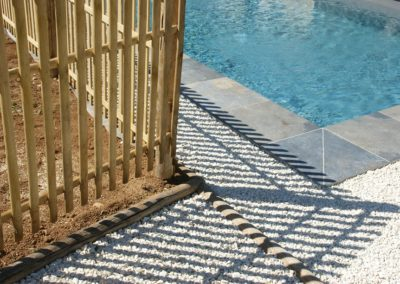 clôture ganivelle portail bois châtaignier Kastané #094