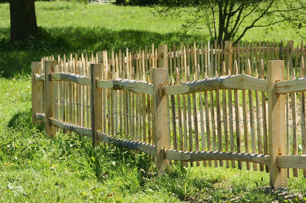 ganivelle clôture châtaignier Kastané
