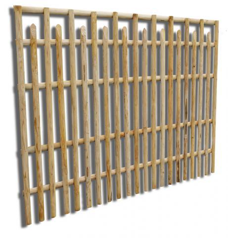 clôture châtaignier. clôture. châtaignier. portail. bois. occultant. limousin. France. barrière. panneaux. poteaux. portail.