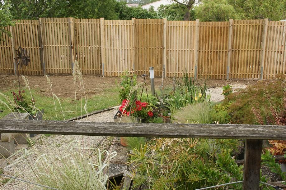 clôture Kastané châtaignier ganivelle portails